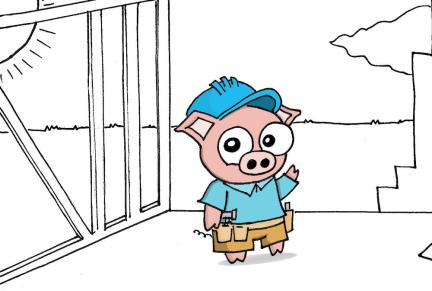 Third Little Pig Construction